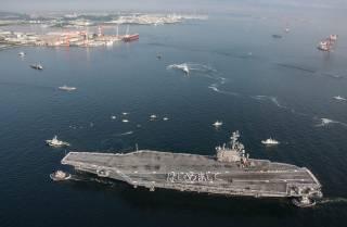 ЧП в Филиппинском море: на американский авианосец упал вертолет