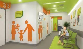 Определены стандарты интерьера в клиниках: материалы, цвета, планировка