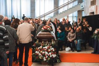 В Житомире похоронили актрису Марину Поплавскую