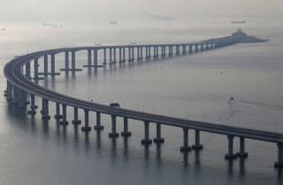 В Китае открыли 55-километровый мост