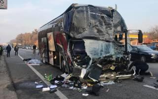 Водитель автобуса с актерами «Дизель шоу» рассказал о последних мгновениях перед смертельным ДТП