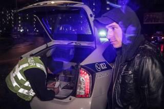Водитель-наркоман устроил ДТП в Киеве, пытаясь уйти от полицейской погони на угнанной машине