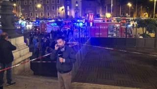 Из-за «взбесившегося» эскалатора в римском метро пострадали украинцы и фанаты ЦСКА. Один человек лишился ноги