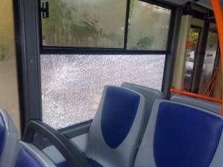В Днепре неизвестные обстреляли троллейбусы и маршрутку
