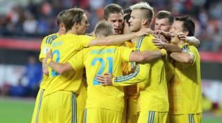 Сборная Украины по футболу поднялась в рейтинге сильнейших сборных мира