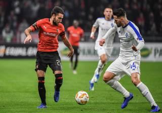 Лига Европы: «Динамо» в меньшинстве бьет на выезде «Ренн» и историческая победа «Ворсклы»