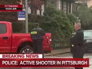 В США расстреляли прихожан синагоги. Досталось и полицейским