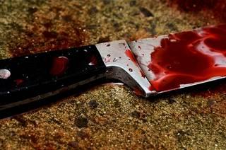 В селе под Киевом мужик зарезал сожительницу и пытался сжечь труп