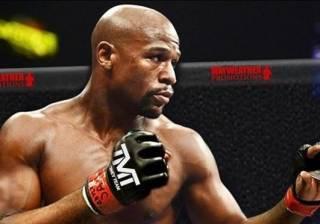 Легендарный боксер Флойд Мейвезер дебютирует в боях без правил