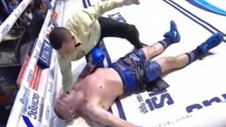 Итальянский боксер умер после сокрушительного нокаута