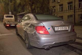В центре Киева греческий дипломат попал в ДТП