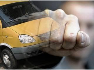 В Ровно водители маршруток устроили драку на глазах у шокированных пассажиров
