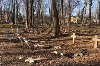 На Западной Украине вандалы атаковали польское кладбище