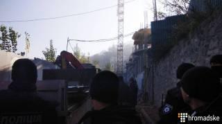 Три взрыва прогремело на Андреевском спуске в Киеве