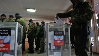 В «ДНР» и «ЛНР» проходят «выборы глав» псевдореспублик. Результаты уже известны