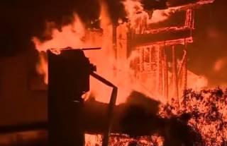 Масштабные пожары в Калифорнии: число жертв растет – на борьбу со стихией бросился лично Трамп