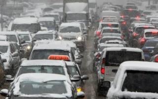 Киев занесет снегом