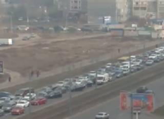 Видео водителей, не пропустивших «скорую помощь», возмутило киевлян