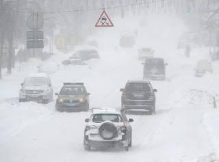 Синоптики прогнозируют затяжные снегопады по всей Украине