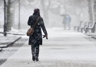 Погода на выходные: по Украине ожидаются снегопады