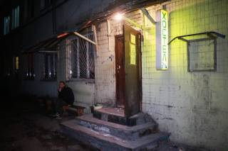 В Киеве отморозок пытался зарезать соседку по хостелу