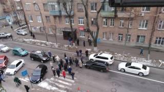 В Киеве и Одессе люди перекрывают дороги из-за отсутствия тепла