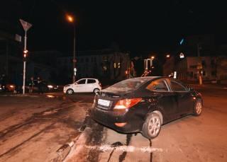 В ДТП в Киеве пострадала беременная женщина