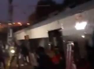 Кровавое крушение поезда в Каталонии: появилось видео