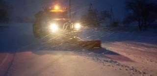 Днепр и Харьков постепенно заметает снегом