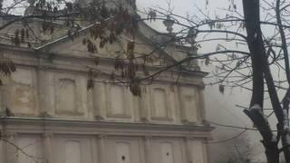 Во Львове горела областная больница. Эвакуировали почти две сотни человек