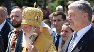 Коломойский: Когда у Порошенко упали рейтинги, он решил заняться Томосом, а теперь еще и хочет отодвинуть Филарета