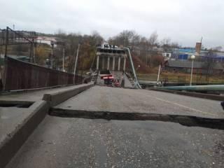 В России рухнул очередной мост. Есть пострадавшие