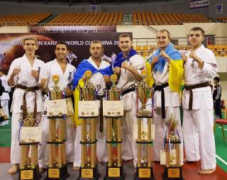 Сборная Украины успешно выступила на пятом Кубке мира по карате Киокушинкайкан ИКО Мацушима