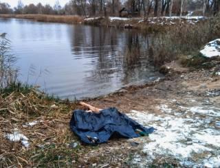 На киевской окраине утопился молодой парень (видео 18+)