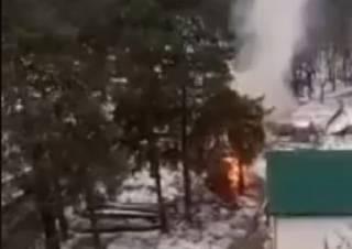 В Киеве горела православная церковь