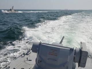 Российские корабли «атаковали» украинский флот во время перехода из Одессы в Мариуполь