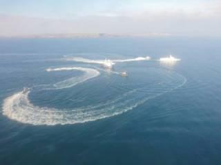 Украинские корабли пытаются прорваться через «закрытый» Керченский пролив