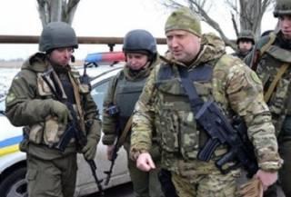 Турчинов приказал готовиться к мобилизации