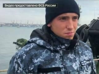 В сеть попало видео допроса пленных украинских моряков