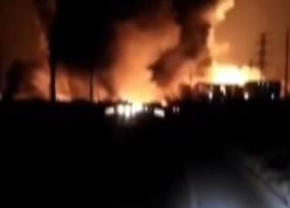 Жертвами взрыва возле химзавода в Китае стали десятки людей: жуткое видео