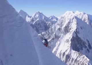 Альпинист из Австрии покорил доселе неприступную вершину