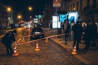 ЧП в центре Киева: именинник расстрелял «странного незнакомца»