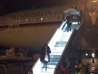 У самолета с Меркель на борту случились проблемы перед саммитом G20