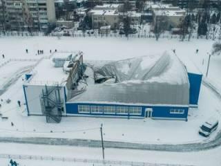 Под Киевом во время детской тренировки обрушилась крыша спорткомплекса