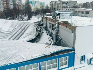 Обрушение крыши спорткомплекса под Киевом: появились первые подозреваемые