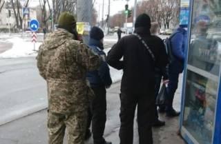 Военные продолжают «отлов» призывников на улицах. Теперь это произошло в Черкассах