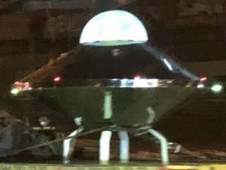 В Киеве удалось зафиксировать искусственный «НЛО». Говорят, внутри был «зеленый человечек»