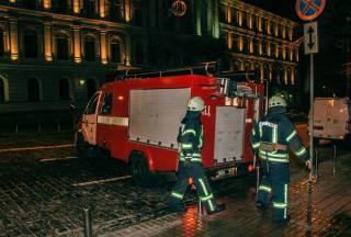 В столичном театре русской драмы произошел пожар