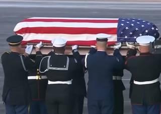 В Техасе похоронили Джорджа Буша-старшего