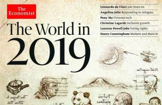 Эксперты «расшифровали» обложку-загадку The Economist на 2019 год